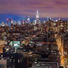 Midtown from SoHo by Randy  LeMoine