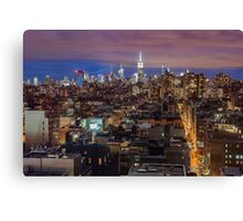 Midtown from SoHo Canvas Print