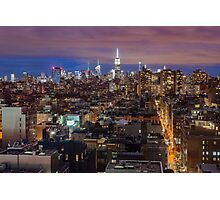 Midtown from SoHo Photographic Print