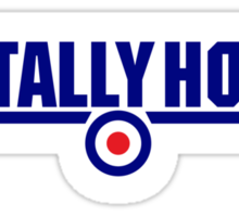 Tally Ho, Chaps. Sticker