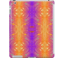 Abstract Pattern 2 -  Purple & Orange iPad Case/Skin