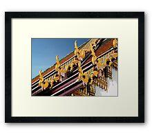 Dragon Endings Framed Print