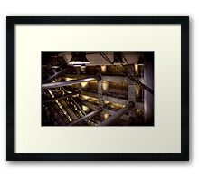 Westminster Station Framed Print
