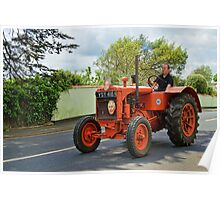 Royal Figureheads ~ Colyton Tractor Run Poster