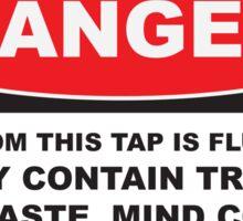 Anti-fluoridation Sticker