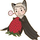 Batjohn- Strawberry! by ivorylungs