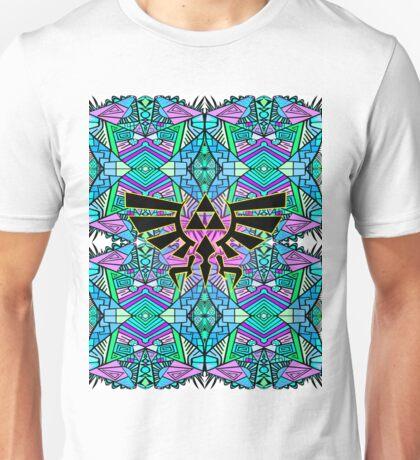 Hylian Royal Crest - Legend Of Zelda - Pattern Blue Unisex T-Shirt