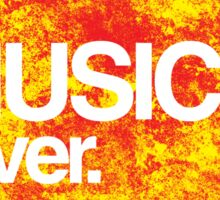 Music Lover. Sticker