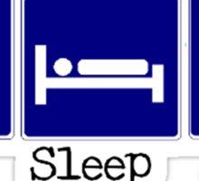 Eat, Sleep, Rock Sticker