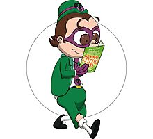 Riddler plans an Enigma Photographic Print