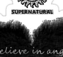 I Believe in Angels Sticker