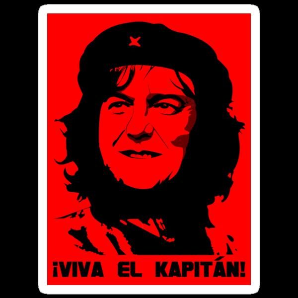 May Guevera Sticker by Blayde