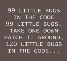 99 Little Bugs Poem by mymainmandeebo