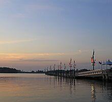 Long Pier at National Harbor by lightportal