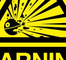 Empire Warning Label STICKER VERSION Sticker