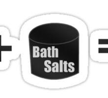 Bath Salts Sticker