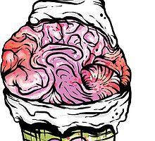 Brain Cupcake by Creep Heart