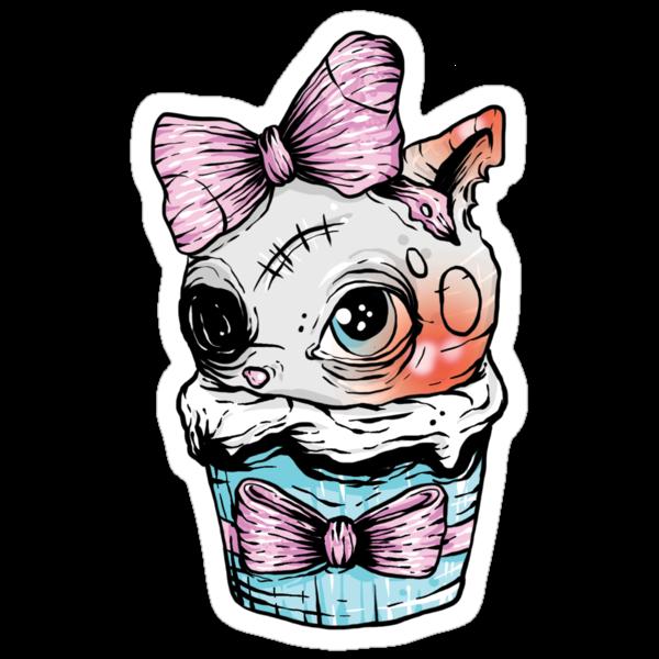 Kitten Cupcake by Creep Heart