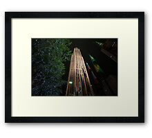 30Rock Framed Print