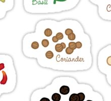 Spice Labels 1 Sticker