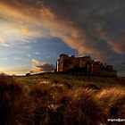 Bamburgh Castle by bryanrqueen