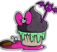 Spookycake Sticker by sashimineko