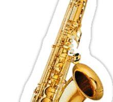 Saxophones Rock Sticker