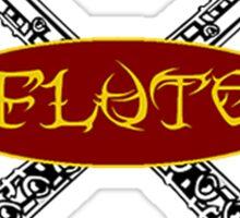 Tribal Flute Sticker
