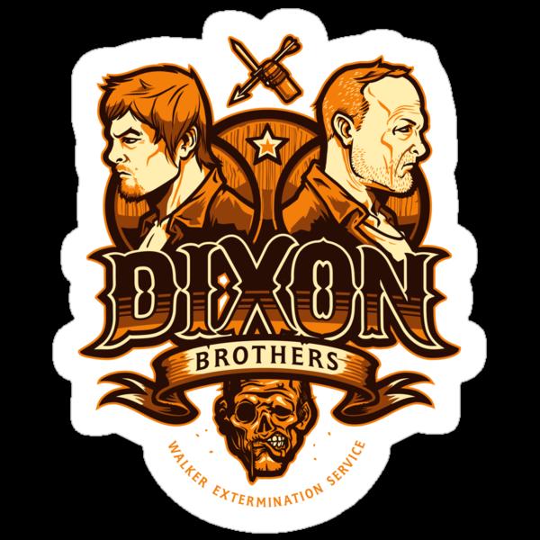 Dixon Brothers Exterminators - STICKER by WinterArtwork