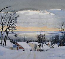 Lakeview Drive by Douglas Hunt