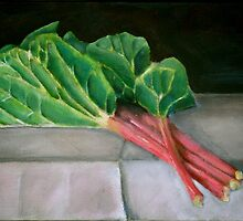 rhubarb by Jeremy Wallace