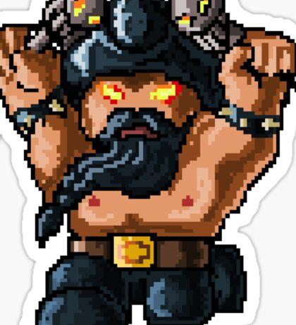 Pixel Pentakill Olaf Sticker