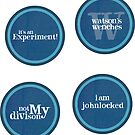 Four Mini Stickers by devinleighbee