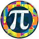 Pi Day Symbol 4 by MudgeStudios