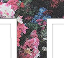 Floral Cross 5 Sticker