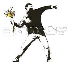 Banksy Logo Design by Louis Malouf