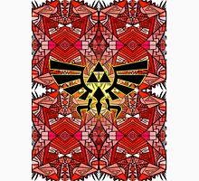 Hylian Royal Crest - Legend Of Zelda - Pattern Red Unisex T-Shirt