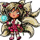 Pixel Dynasty Ahri by Pixel-League