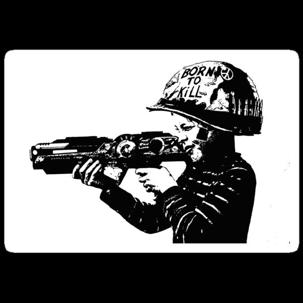 Kids with Guns sticker by borstal