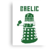 Gaelic Dalek Canvas Print