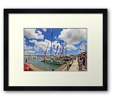 7June2012. Lisbon. Framed Print