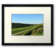 Colhugh Valley, Llantwit Major Framed Print