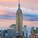 Empire State in Cotton Candy by Randy  LeMoine