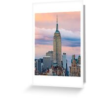 Empire State in Cotton Candy Greeting Card