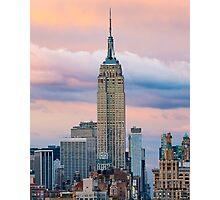 Empire State in Cotton Candy Photographic Print