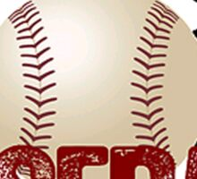Baseball Tribal Sticker