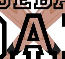 Baseball Dad Sticker