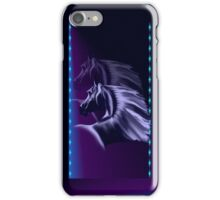 Horse Silhouette Shadowed  iPhone Case/Skin