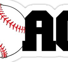Baseball Coach Sticker