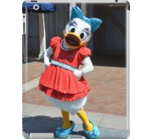 Daisy Flower Duck Character iPad Case/Skin